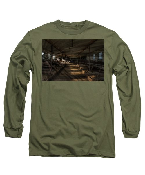 Milk Cows In Radiant Light Long Sleeve T-Shirt