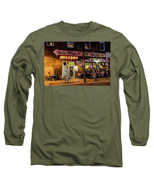 Milkboy - 1033 Long Sleeve T-Shirt by David Sutton