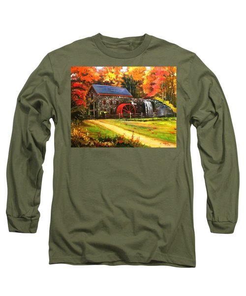 Mill House Long Sleeve T-Shirt by Rose Wang