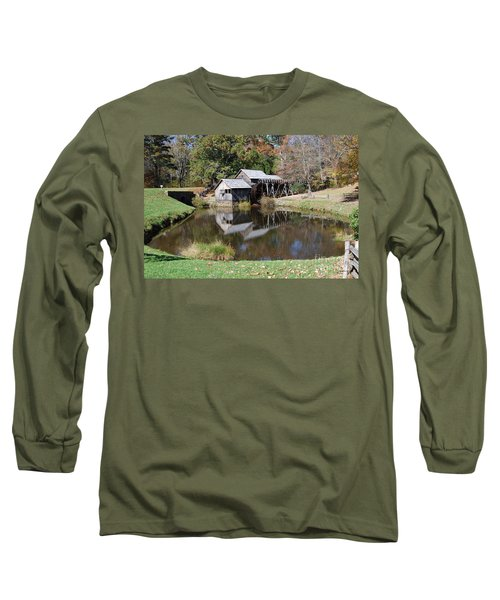 Mill Reflections Long Sleeve T-Shirt by Eric Liller