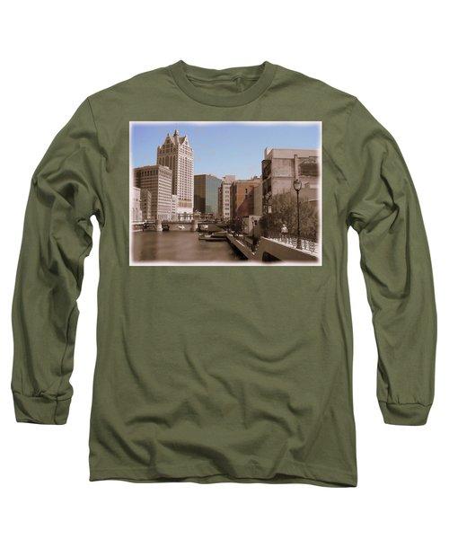 Milwaukee Riverwalk Long Sleeve T-Shirt