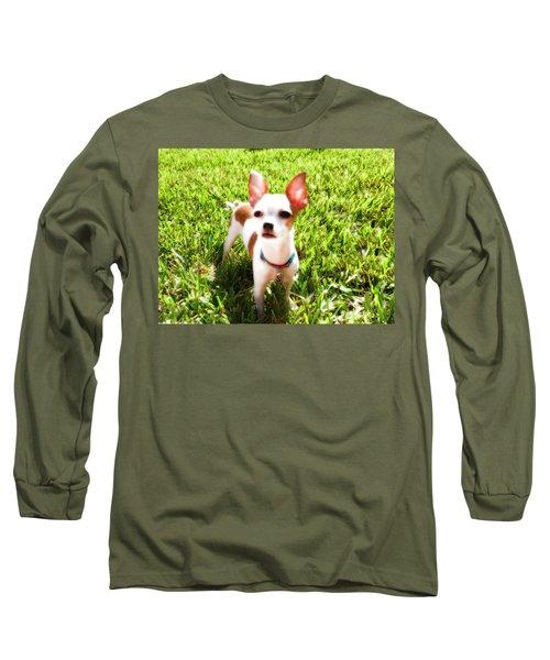 Mini Dog Long Sleeve T-Shirt by Josy Cue