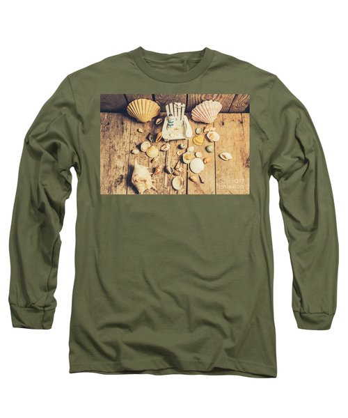 Miniature Sea Escape Long Sleeve T-Shirt
