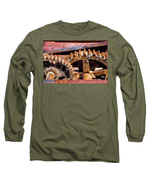 Mining Gears Long Sleeve T-Shirt
