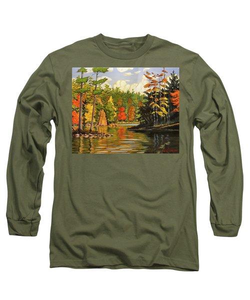 Mink Lake Narrows Long Sleeve T-Shirt