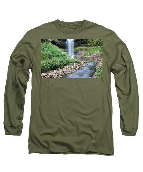 Minnehaha Falls Downstream Long Sleeve T-Shirt