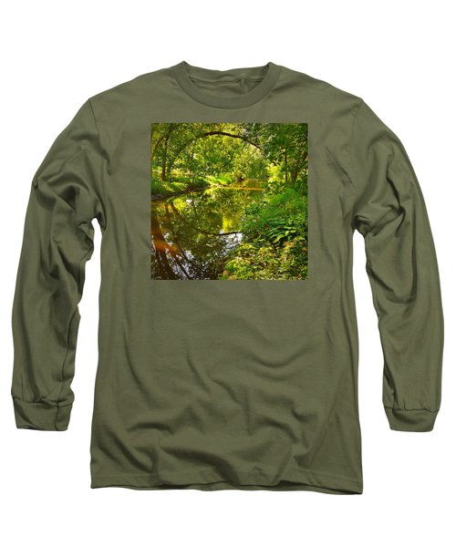 Long Sleeve T-Shirt featuring the photograph Minnesota Living by Lisa Piper