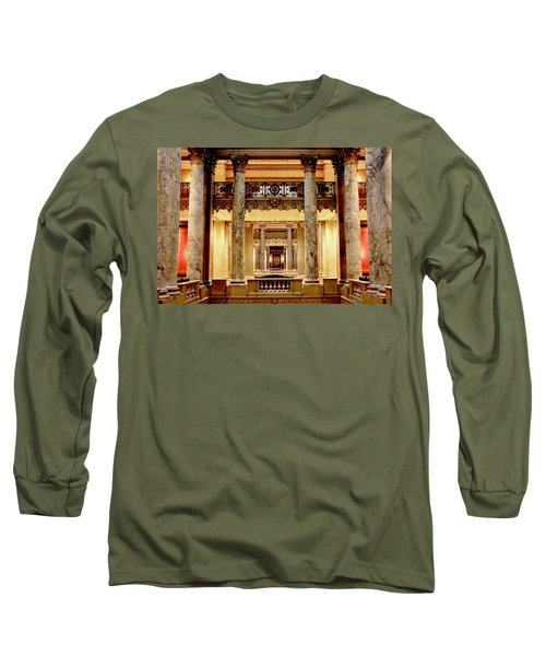 Minnesota Capitol Senate Long Sleeve T-Shirt