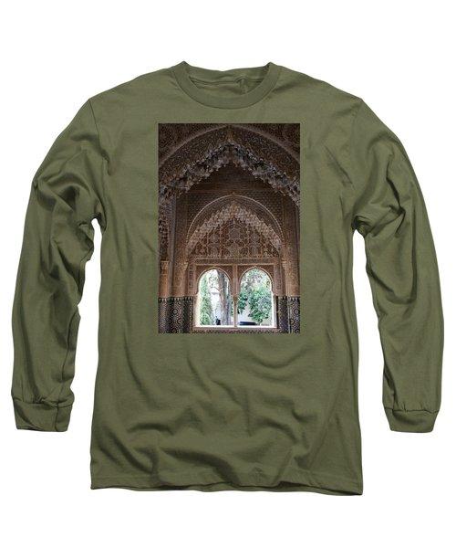 Mirador De Daraxa Long Sleeve T-Shirt by Christian Zesewitz