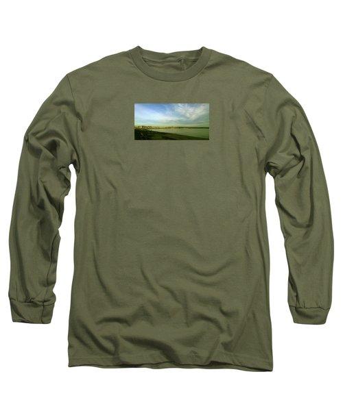 Mirror Calm Long Sleeve T-Shirt by Anne Kotan