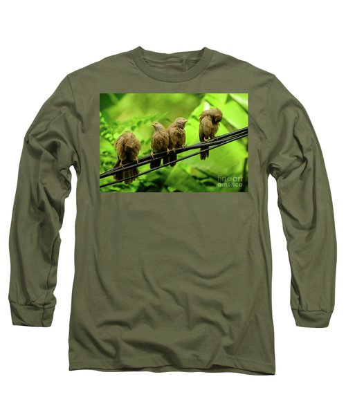 Mirror Image Long Sleeve T-Shirt