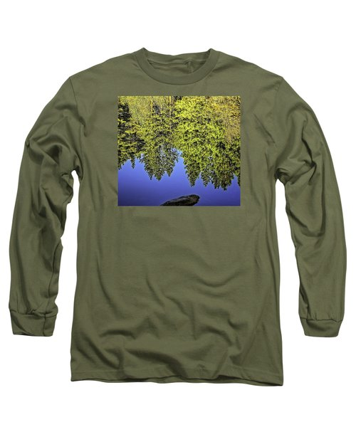 Mirror Mirror-2 Long Sleeve T-Shirt by Nancy Marie Ricketts