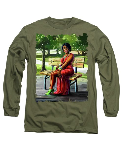 Mismatched And Happy Long Sleeve T-Shirt