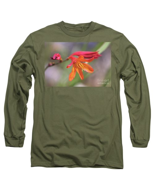 Long Sleeve T-Shirt featuring the photograph Misplaced Beauty by Linda Lees