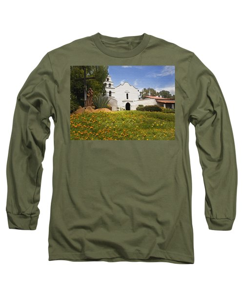 Mission San Diego De Alcala Long Sleeve T-Shirt