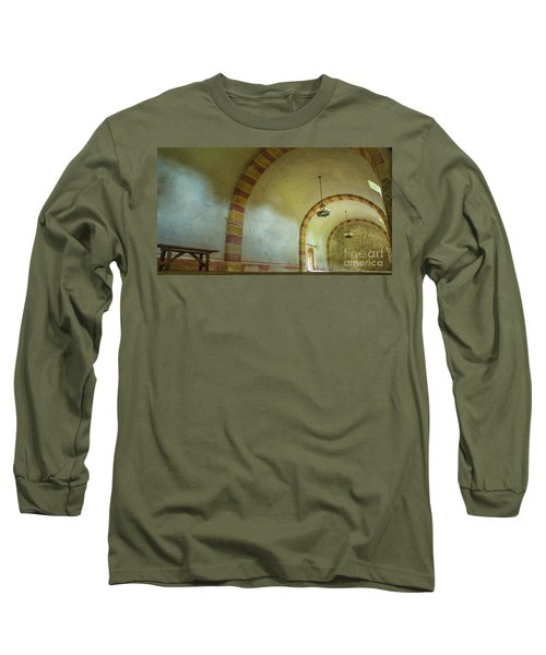 The Granary At Mission San Jose  Long Sleeve T-Shirt