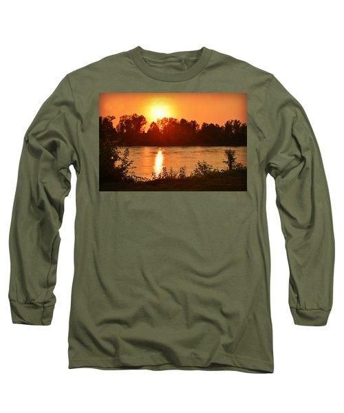 Missouri River In St. Joseph Long Sleeve T-Shirt