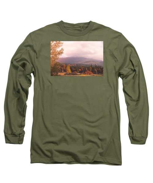 Mist On The Mountains Long Sleeve T-Shirt