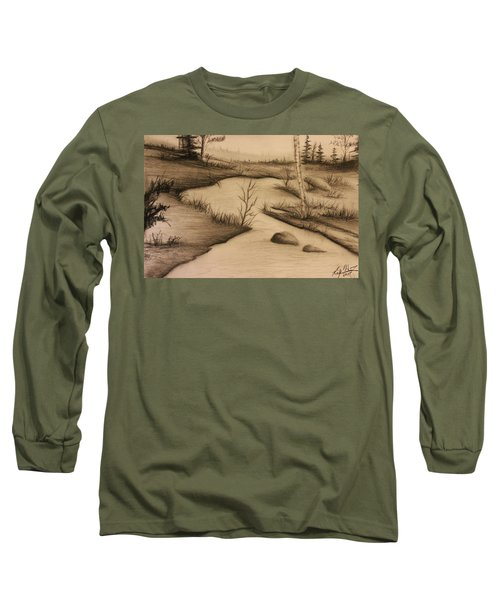 Misty River Long Sleeve T-Shirt