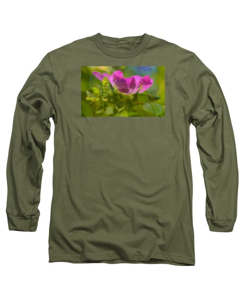 Long Sleeve T-Shirt featuring the photograph mix by Leif Sohlman