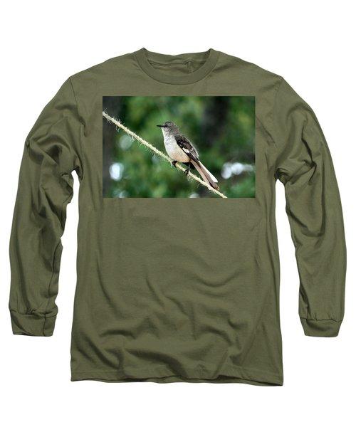 Mockingbird On Rope Long Sleeve T-Shirt