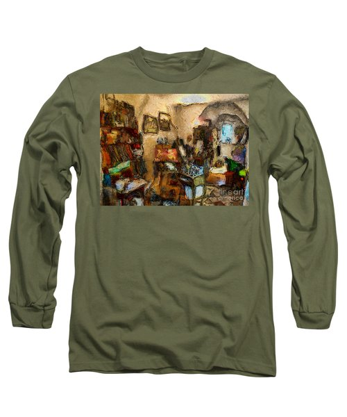 Modern Art Studio Long Sleeve T-Shirt