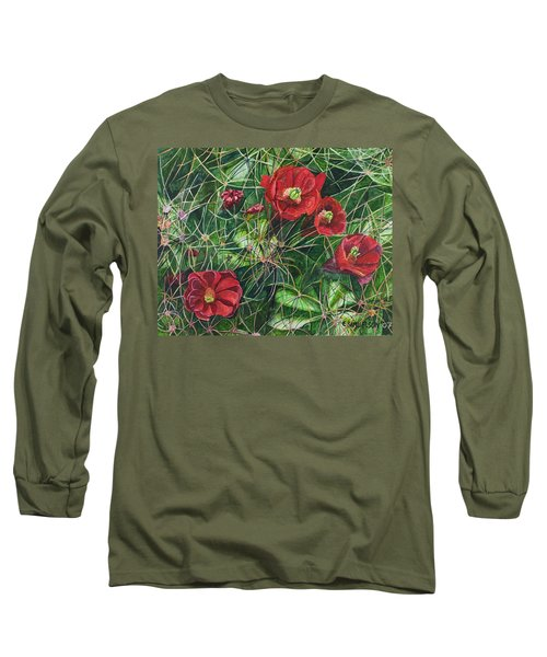 Mohave Mound Cactus Long Sleeve T-Shirt