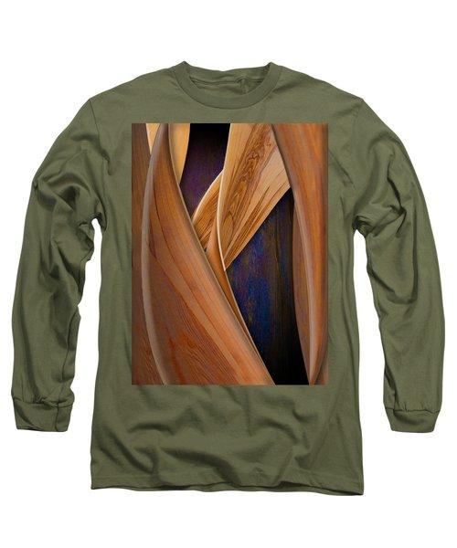 Molten Wood Long Sleeve T-Shirt