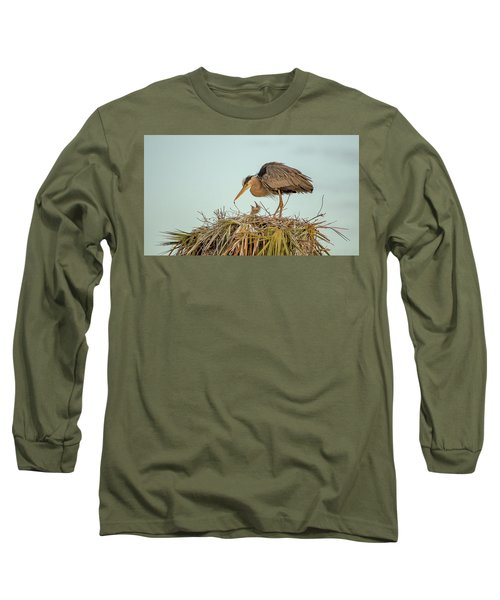 Mom And Chick Long Sleeve T-Shirt