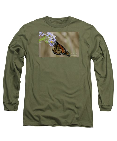 Long Sleeve T-Shirt featuring the photograph Monarch 2015 by Randy Bodkins
