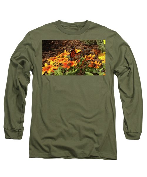 Monarch Butterflies Long Sleeve T-Shirt