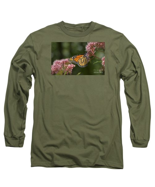 Monarch Butterfly Long Sleeve T-Shirt by Alana Ranney