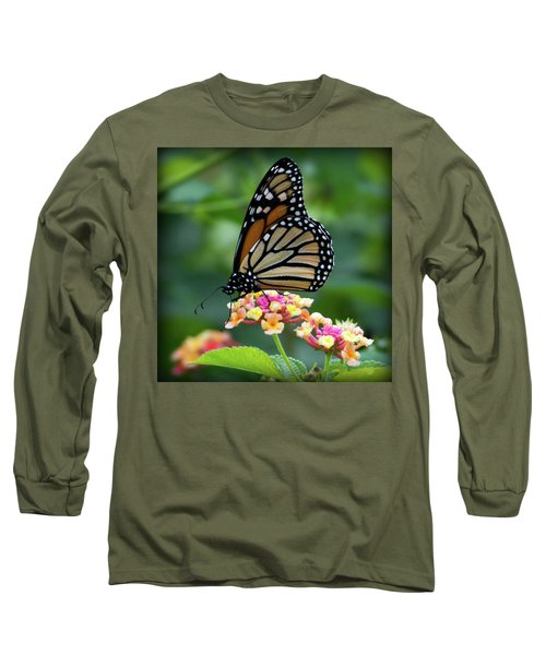 Monarch Butterfly Art II Long Sleeve T-Shirt