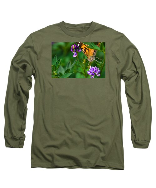 Monarch Long Sleeve T-Shirt by Marlo Horne