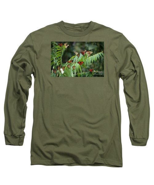 Monarch Migration Long Sleeve T-Shirt