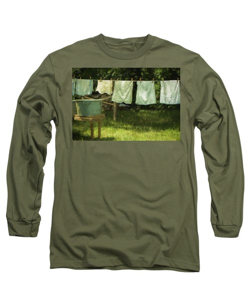 Monday Was Wash Day Long Sleeve T-Shirt