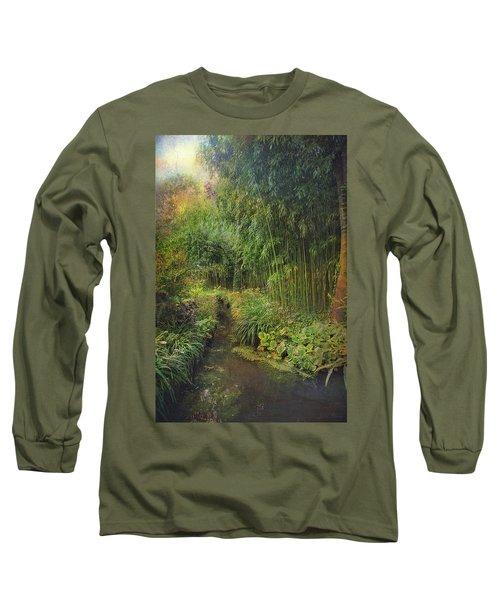 Monets Paradise Long Sleeve T-Shirt
