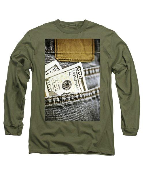 Money Jeans Long Sleeve T-Shirt