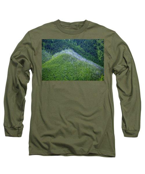 Montana Mountain Vista #4 Long Sleeve T-Shirt