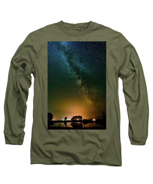 Montana Night Long Sleeve T-Shirt