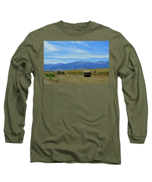 Montana Scene Long Sleeve T-Shirt