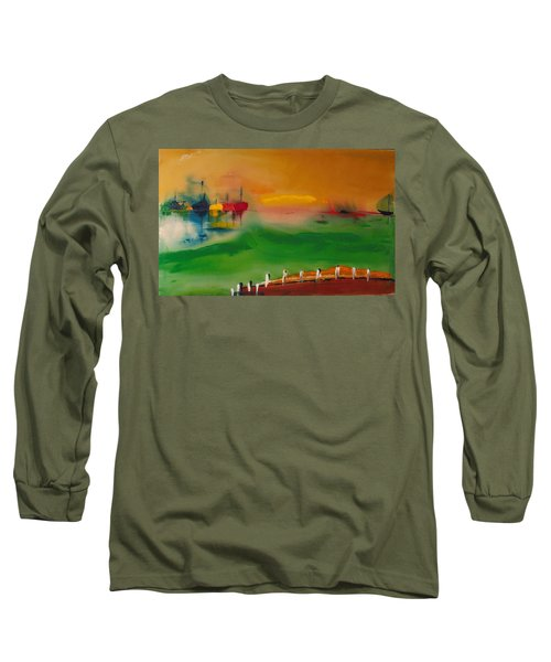 Montauk Marina Long Sleeve T-Shirt