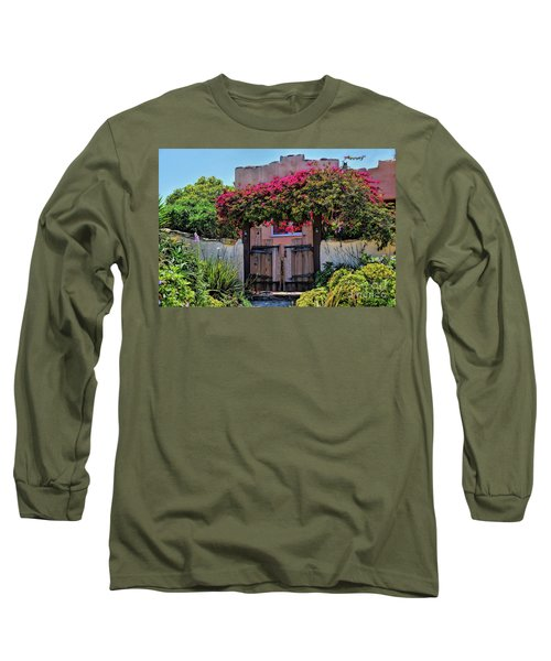 Monterey Charm Long Sleeve T-Shirt by Gina Savage