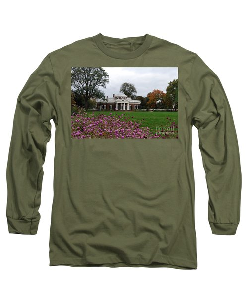 Monticello Long Sleeve T-Shirt by Eric Liller