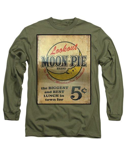 Moon Pie Antique Sign Long Sleeve T-Shirt