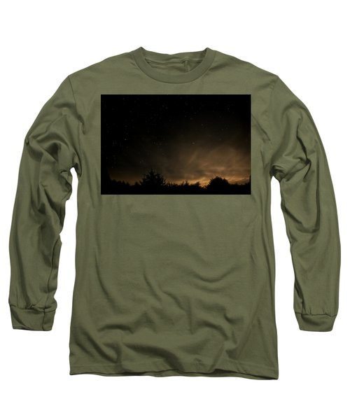 Long Sleeve T-Shirt featuring the photograph Moon Rise by Katie Wing Vigil