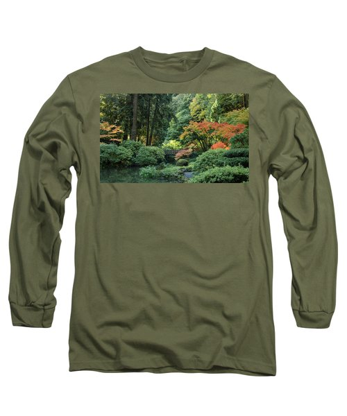 Moonbridge Autumn Serenade Long Sleeve T-Shirt
