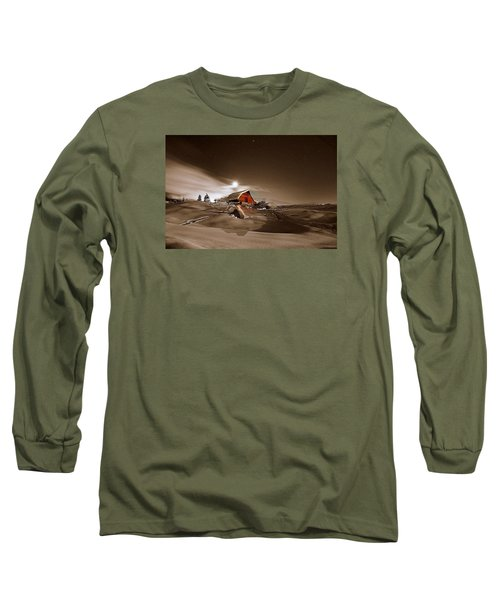 Moonlit  Long Sleeve T-Shirt by Matt Helm