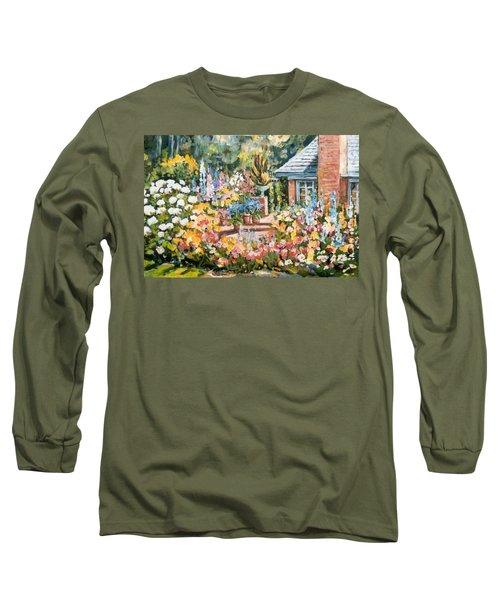 Moore's Garden Long Sleeve T-Shirt by Alexandra Maria Ethlyn Cheshire