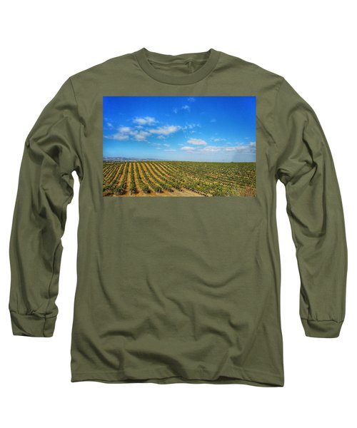Morgan Hill Vinyard Long Sleeve T-Shirt